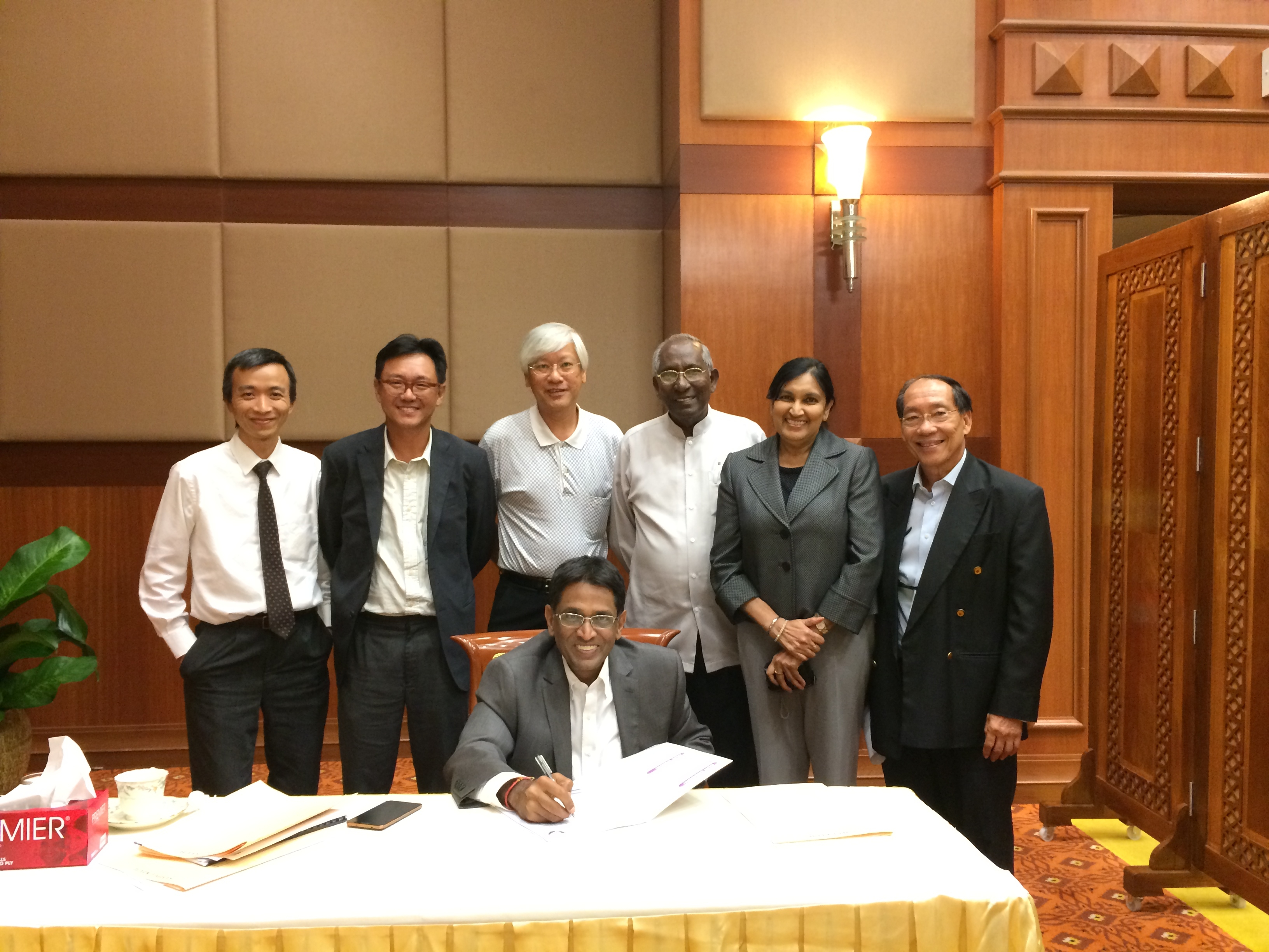 Together Against Cancer (TAC) Meeting with the Minister of Health Malaysia